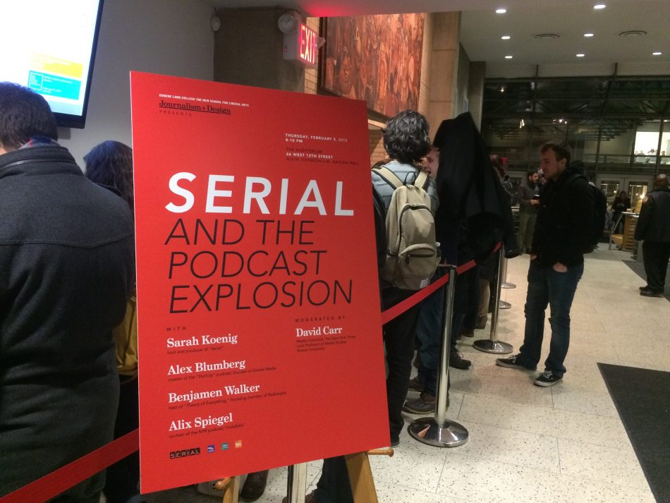 Serial and the Podcast Explosion Event